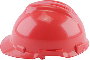red hard hat